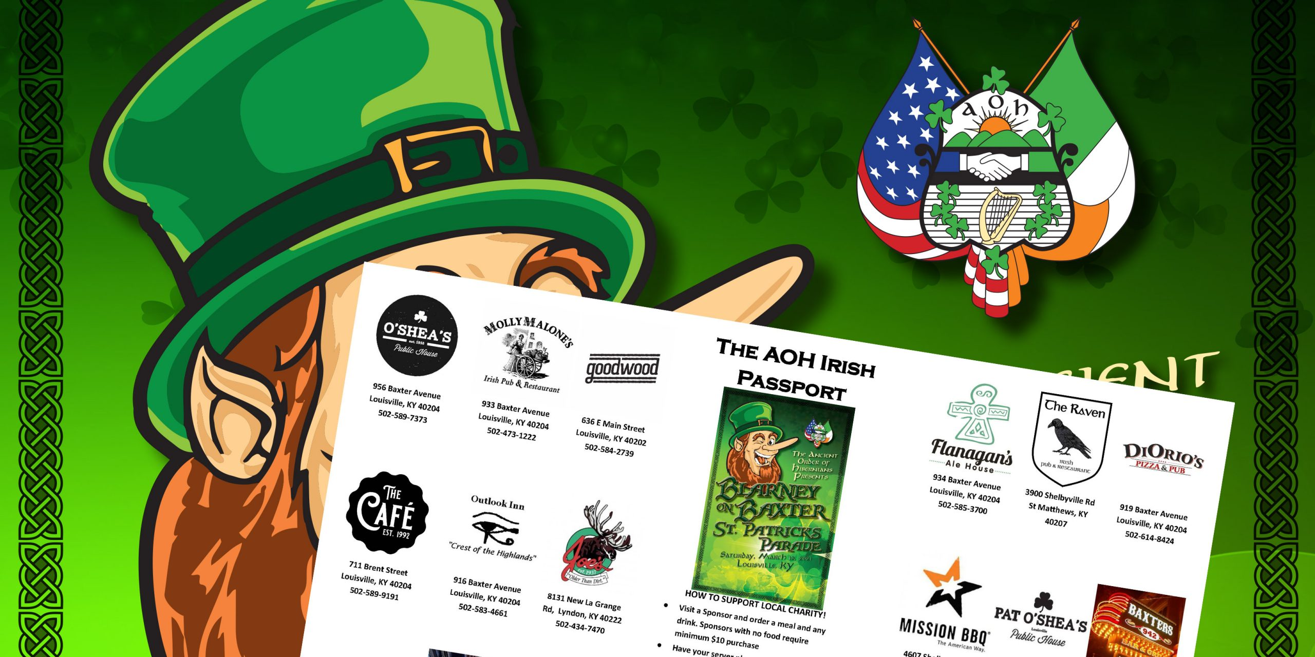 The AOH Irish Passport is available!
